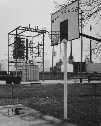 Backyard in Front of Northern Indiana Public Service Station and Amoco Oil Refinery, Whiting, Indiana