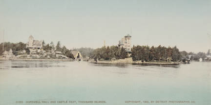 Hopewell Hall and Castle Rest, Thousand Islands