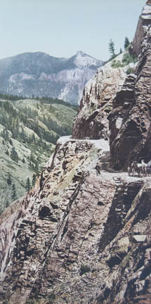 Ouray and Silverton Toll Road, Colorado