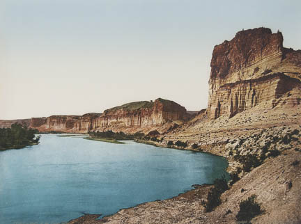 Bluffs of the Green River, Utah