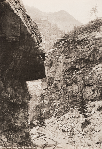 Hanging Rock Clear Creek Canyon