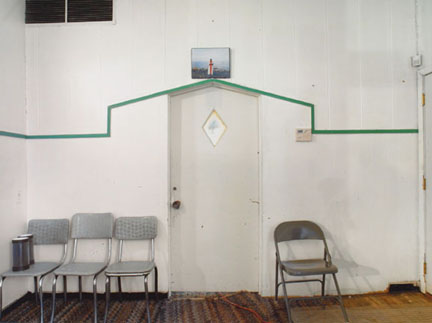 Door of the Sanctuary, El Shaddai Miracle Temple, 2004, 1425 W. 51st Street, Chicago