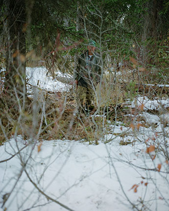 Trapper on the Lick Creek Line #5, from the