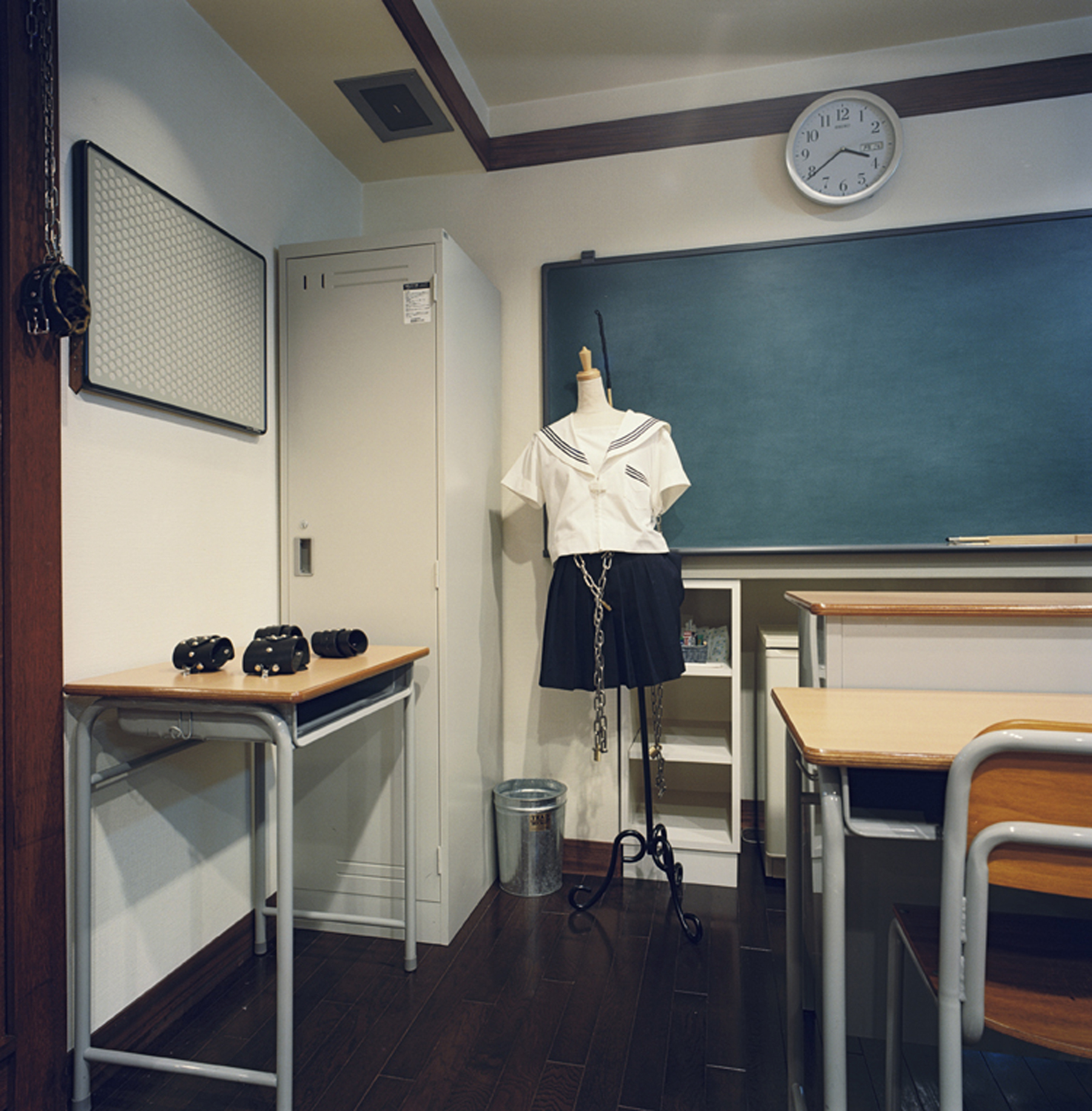 High School Room with Uniform, Hotel Adonis, Osaka