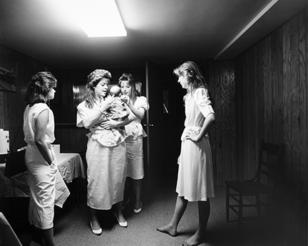 Julie, Trilby, Laura, Tricia, and Baby Sarah, from Changing Chicago