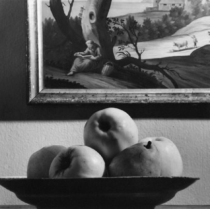 New York (fruit bowl and painting)