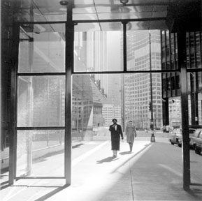 Entrance To Sun-Times (State Street), Chicago, from Changing Chicago