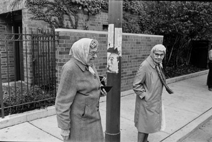 Two Women, Halsted Street Near Dickens Avenue, from Changing Chicago
