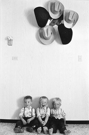Three Boys & Hats, from the