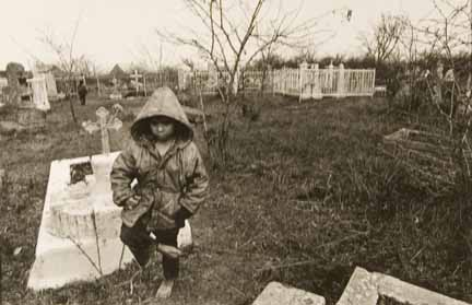 'Gypsies' Series Odessa (boy/graveyard)