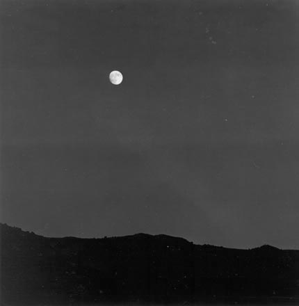 Toquerville Moonrise & rejected landscape