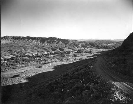 Gunlock, Utah, Panorama to the North