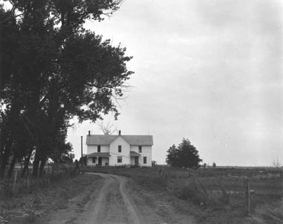 Farmhouse, S. Dakota