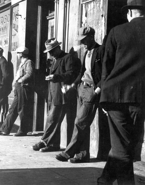 Thirteen Million Unemployed Fill the Cities in the Early Thirties