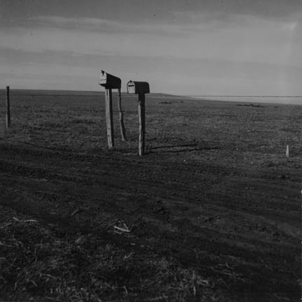 The rolling lands used for grazing near Mills, New Mexico