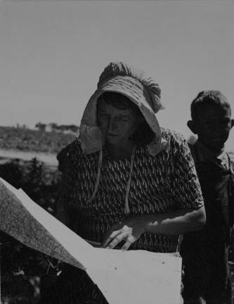 Bonneted Women - Drought Refugees