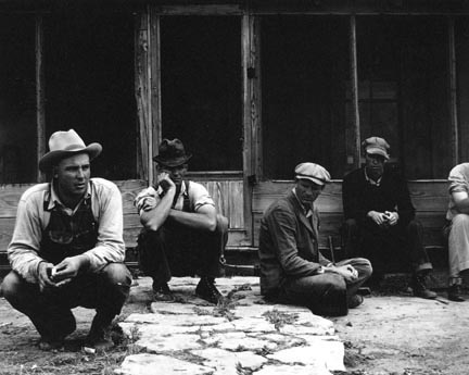 Texas Tenant Farmers Displaced by Power Farming / Displaced Tenant Farmers Goodlet, Hardeman Co., Texas