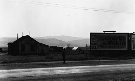 Grapes of Wrath Billboard, California