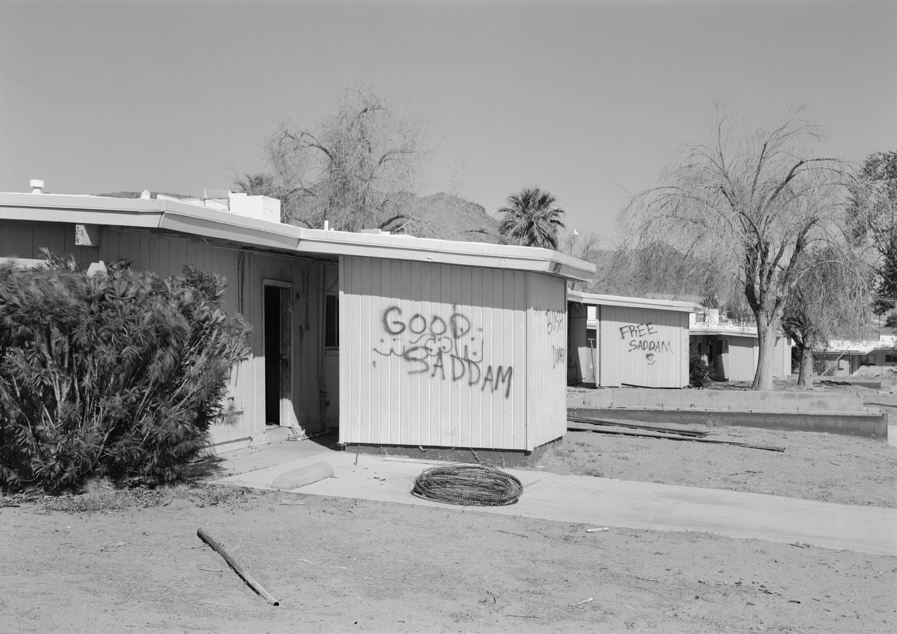 29 Palms: Security and Stability Operations, Graffiti I