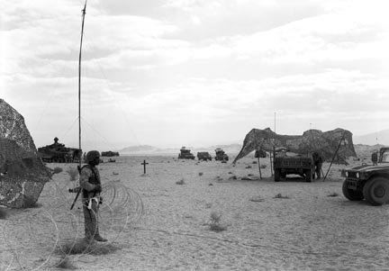 29 Palms: Combat Operations Center Guard