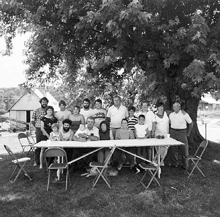 Family Reunion, Jo Daviess County, Illinios?, from the Farm Families Project