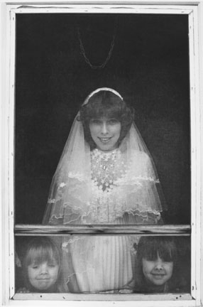 Jayne Grube on her Wedding Day, Jo Daviess County, Illinios?, from the Farm Families Project
