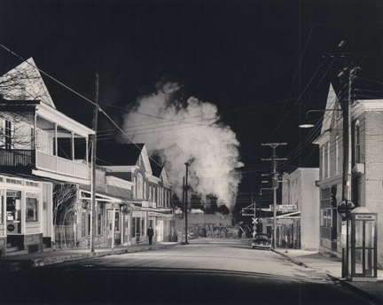 NW 1345 - Ghost Town, Stanley, Virginia, January 31, 1957