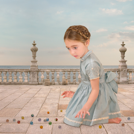 Girl With Marbles