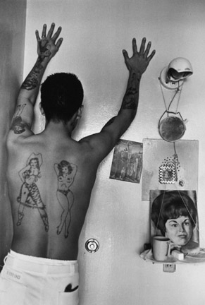 Prison tattoos, from