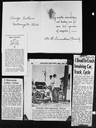 Johnny Davis' Scrapbook, from the