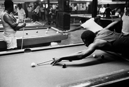 64th and Cottage Grove, Atkins Pool Hall, from Changing Chicago