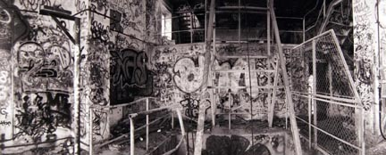 Abandoned Factory, Strehlener Strasse, from the