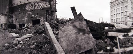 Demolition Site, Magdeburger Strasse, from the
