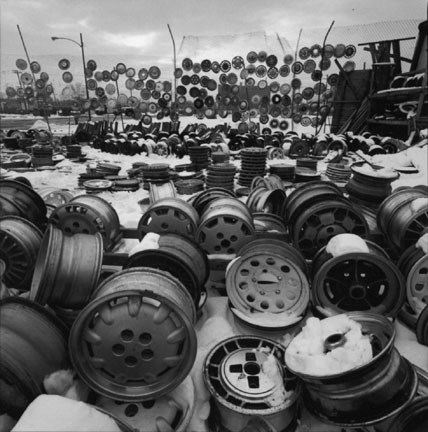 Wheels and Hubcaps, Old Maxwell Street Market