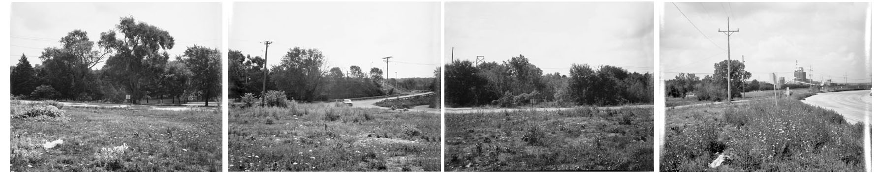 Intersection of U.S. Route 6 and Brandon Road Near Joliet, from Changing Chicago Project