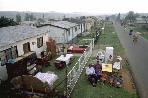 The Quampie Family, Soweto, South Africa, 6:00 p.m., March 15, 1993