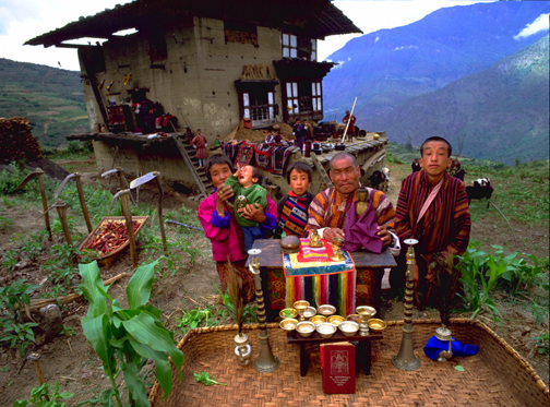 The Kuankaew Family, Ban Muang Wa, Thailand, 5:30 p.m., May 31, 1993