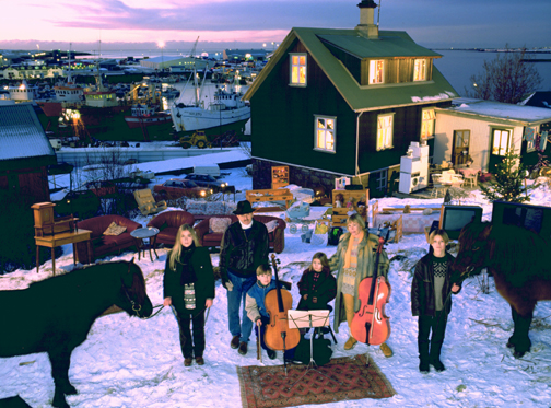 The Thoroddsen Family, Hafnarfjördur, Iceland, 4:00 p.m., December 15, 1993