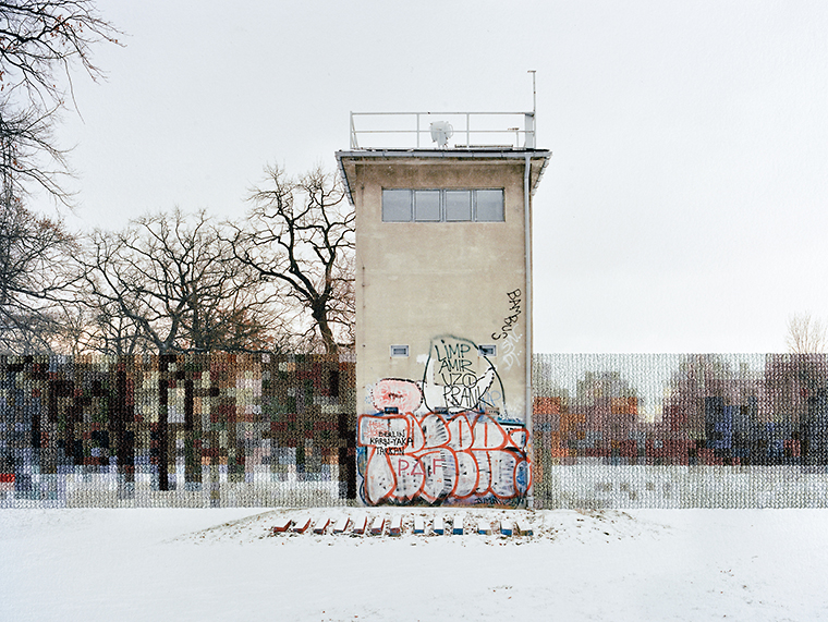 Former Guard Tower Off Puschkinallee