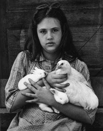 Martha Holding Animals, from the Ozark portfolio