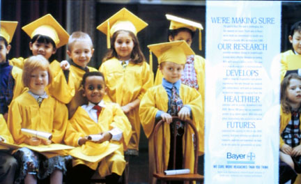 Bayer Graduation Kids