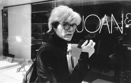 Portrait of Andy Warhol, Labor Day Weekend, New York City