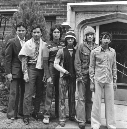 Cambodians Living on Juneway Terrace, Chicago, from the