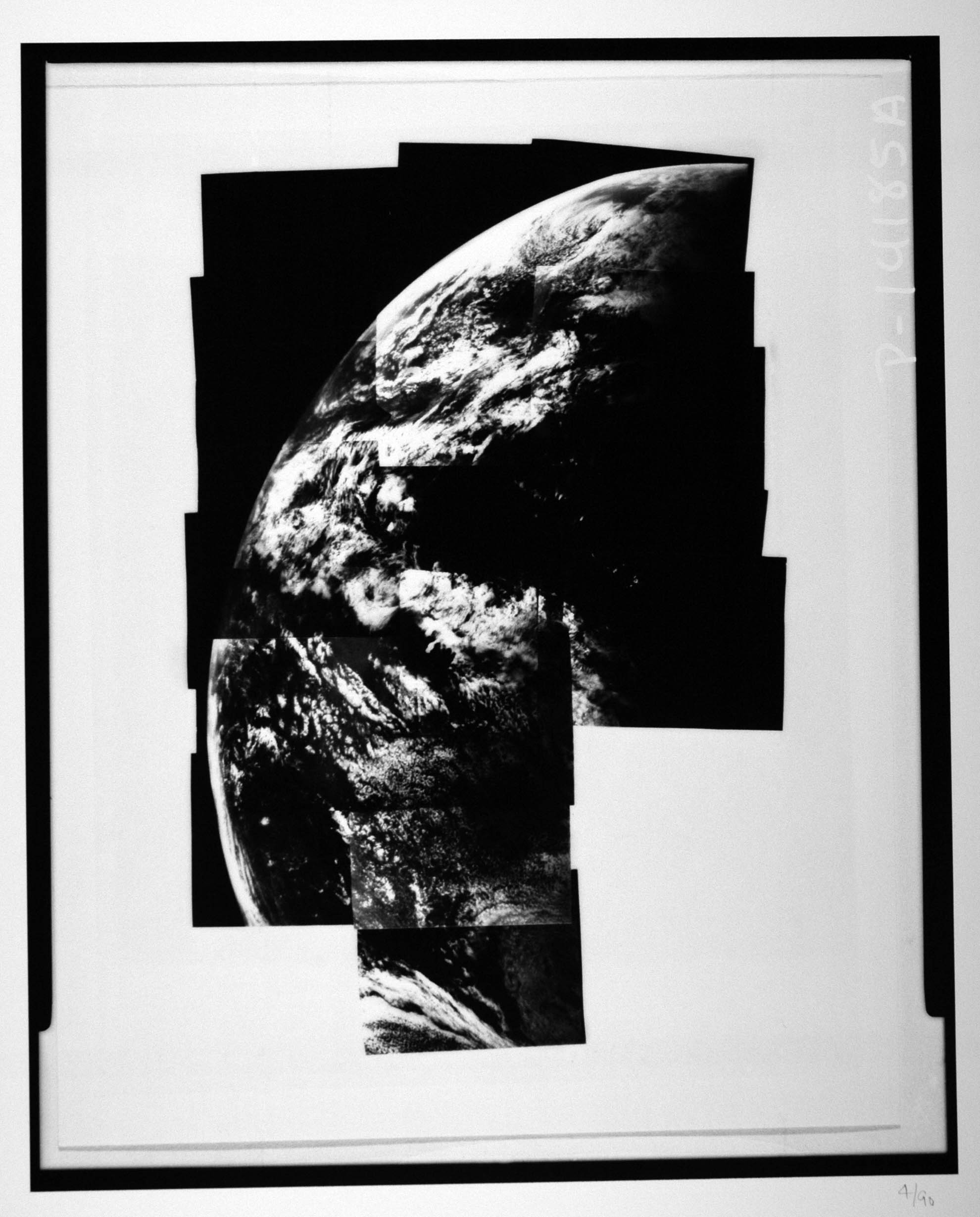 Mariner 10-3 November 1973. Photomosaic of Earth