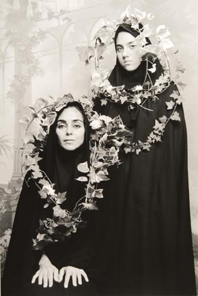 "Untitled, from ""Women of Allah"" series, from the Elton John AIDS Foundation Photography Portfolio I"