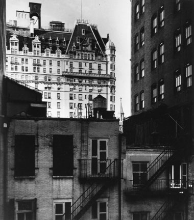 The Plaza Hotel, New York from the Beaumont Newhall Portfolio