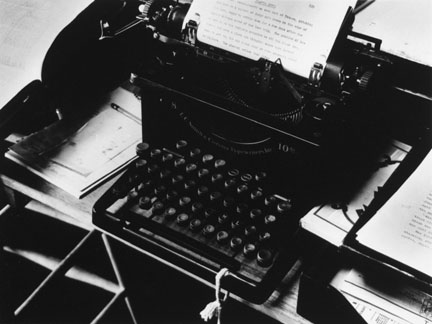 Charis Weston's Typewriter, Carmel, California