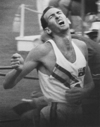 Herb Elliott, Breaking World's Record 1500 meter, Olympics, Rome