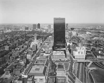 North view from the Prudential Building, Boston