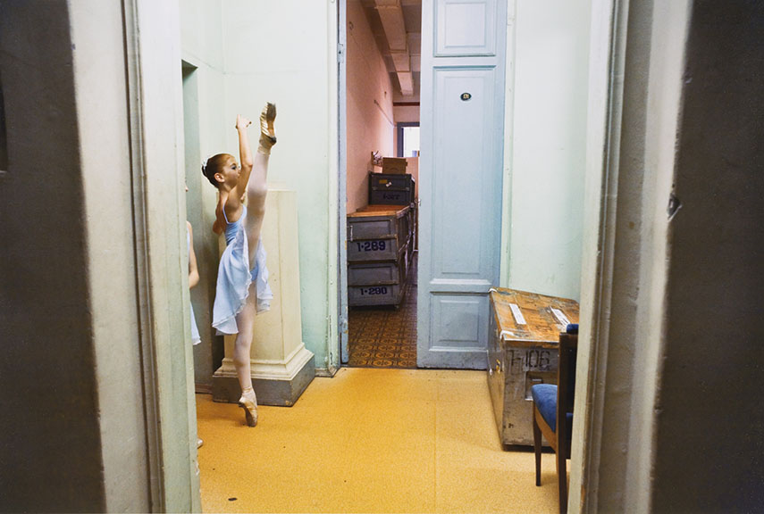 2nd Class Girl Backstage at the Mariisky Theater, St. Petersburg, Russia